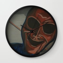 Wicked Smile Wall Clock