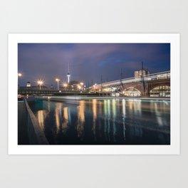 Berlin Jannowitzbrücke Art Print