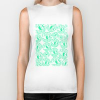 tame impala Biker Tanks featuring TAME IMPALA EYES by Queen Lizard