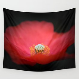 Red flower India Wall Tapestry