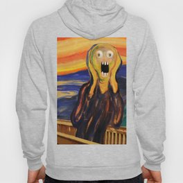 The Screamer - Really Freaked Out Hoody