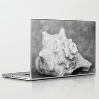 shell Laptop & iPad Skins featuring Shell by SilverSatellite