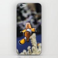 nemo iPhone & iPod Skins featuring Nemo by lulu althuwaini
