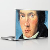 beethoven Laptop & iPad Skins featuring Beethoven by SuchDesign