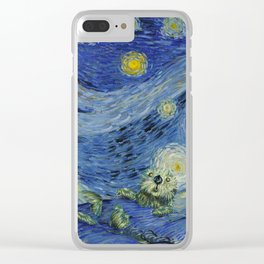 Starry Monterey Night (for Mikaela) Clear iPhone Case