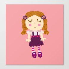 sleep doll Canvas Print