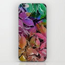 Behind Leaves #society6 #decor #buyart iPhone Skin