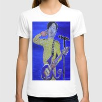 prince T-shirts featuring Prince by Robert E. Richards