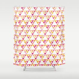 triangles #4 Shower Curtain