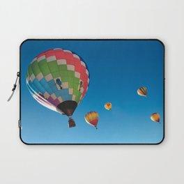 Balloons on Blue Laptop Sleeve