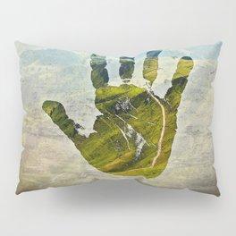 Hand Print Pillow Sham