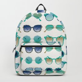 Sunglasses Collection – Turquoise & Navy Palette Backpack