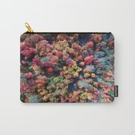 FOREST - AUTUMN - COLORS - PHOTOGRAPHY - NATURE Carry-All Pouch