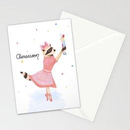 Claraccoon Stationery Cards