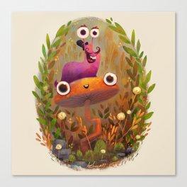 Slug Buddy Canvas Print
