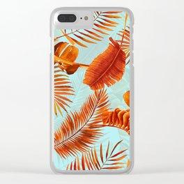 Summer Botanical Garden XIV Clear iPhone Case