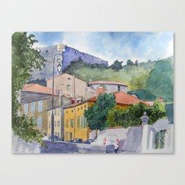 Château de Quillan Canvas Print