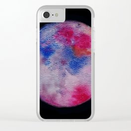 Nebula Planets Clear iPhone Case
