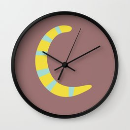 Mix And Match Fall Letter Set Wall Clock
