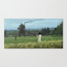 1920 - long time no see Canvas Print