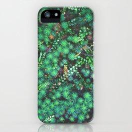 Emerald Cosmos iPhone Case