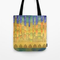 israel Tote Bags featuring Israel by Eugene Frost