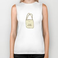 totes Biker Tanks featuring Totes Adorbs! by Sophie Corrigan