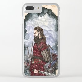 Tyr God of war and justice Clear iPhone Case