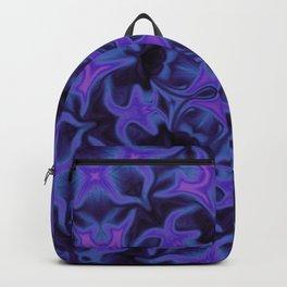 Blue and Purple Kaleidoscope Backpack