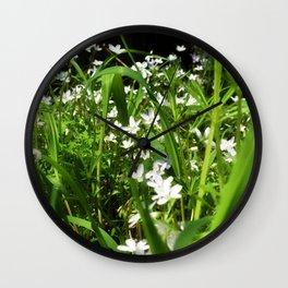Spring Beauty 13 Wall Clock