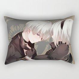 Nier Automata Romantic Rectangular Pillow