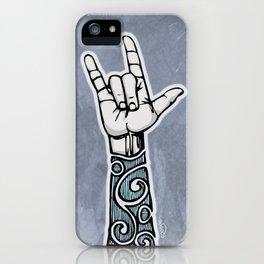 Double Rock Sleeve iPhone Case