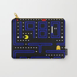 Play Retro Game PAC Man Carry-All Pouch