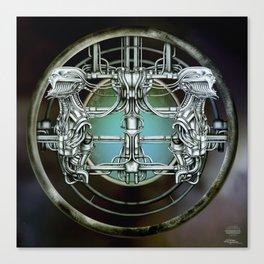 """Astrological Mechanism - Gemini"" Canvas Print"