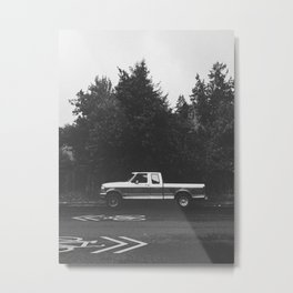 Pickup truck - Eugene - Oregon Metal Print