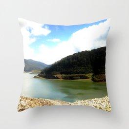 Thompson's Dam Throw Pillow