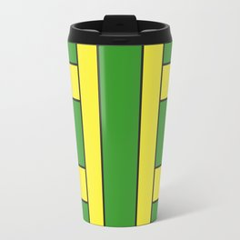 They were all yellow... blue and green Travel Mug