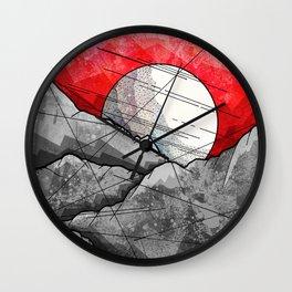 The Grey Rocks Wall Clock