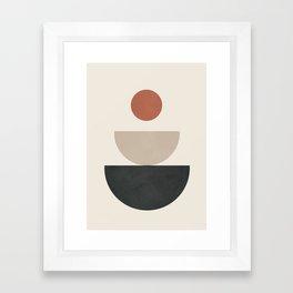 Geometric Modern Art 30 Framed Art Print