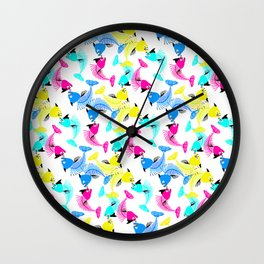 Fishes Love Wall Clock