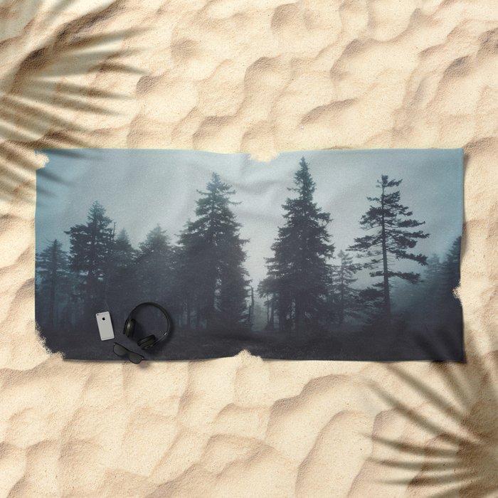 Leave In Silence Beach Towel