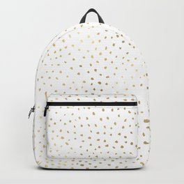 Dotted Gold Backpack