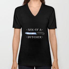 Butcher Daughter Knife Cutter Unisex V-Neck