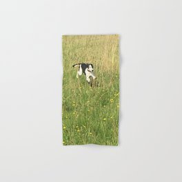 Happiness is running wild and free, and not letting your feet touch the ground! Hand & Bath Towel