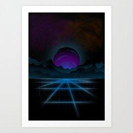 Outrun-2 Art Print