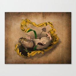 Memento Mori: The Eternal Cycle Canvas Print
