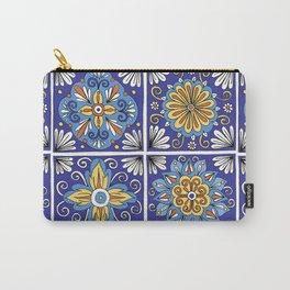 Italian Tiles Carry-All Pouch