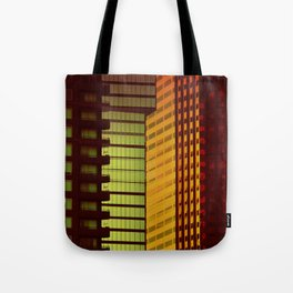 It's all Shapes and Colors - Downtown Los Angeles #68 Tote Bag