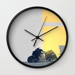 Sleepy Wall Clock