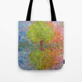 Self-knowledge in the drop of water Tote Bag